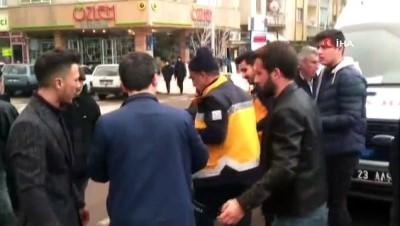 motosiklet surucusu -  Elazığ'da motosiklet ile otomobil çarpıştı: 1 yaralı