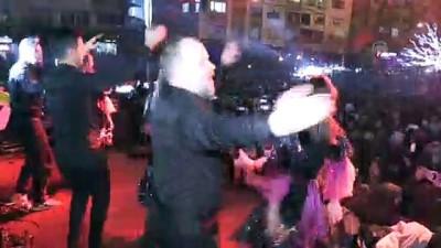 Kırklareli'nde yeni yıl kutlamaları