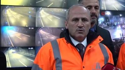 Ulaştırma ve Altyapı Bakanı Turhan, karayolları işletme şefliklerini denetledi