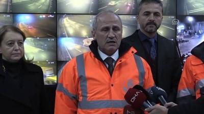 Ulaştırma ve Altyapı Bakanı Turhan, yeni yıla Bolu Dağı'nda girdi (2) - BOLU