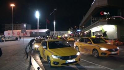 Yeni yıl kutlamaları için kapatılan Taksim tekrar açıldı