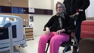 6 ay sürecek tedavi yarım saatte yapıldı