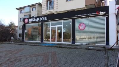 Bolu'da, MÜSİAD yönetiminden toplu istifa