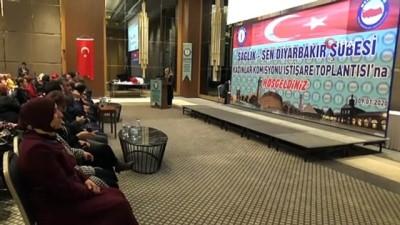Diyarbakır'da Sağlık-Sen Kadın Komisyonu İstişare Toplantısı yapıldı