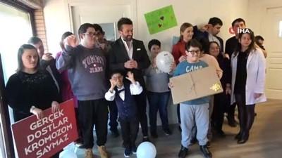 Engelli çocukların mutluluğuna yeni bir kapı daha açıldı