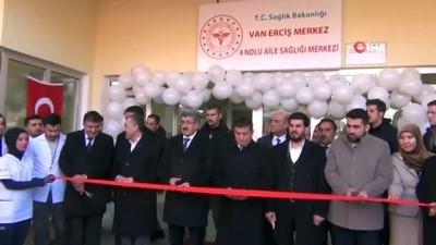 Erciş'te, 5 milyon 816 bin TL tutarındaki sağlık yatırımları hizmete açıldı