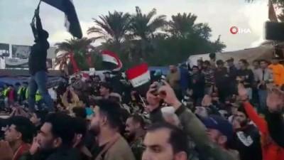 protesto -  - Irak'ta Protestolar Yeniden Alevlendi: 2 Gazeteci Öldürüldü