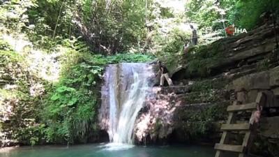 Sinop'un tabiat parkları ziyaretçileri kendisine hayran bırakıyor