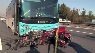 Ümraniye'de karı kocanın öldüğü trafik kazasına ilişkin minibüs şoförü gözaltına alındı
