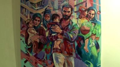 Ümraniye'den İdlib'e destek kampanyasında toplanan yardımlar yola çıktı