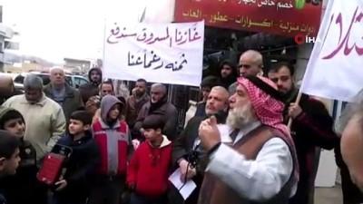 protesto -  - Ürdünlülerden İsrail-Ürdün gaz anlaşması protestosu