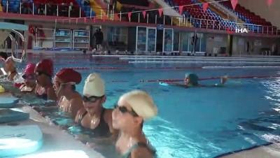 yuzme - Uşak'ta 4 bin öğrenciye yüzme öğretilmesi hedefleniyor