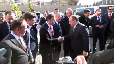 Bakanlar Siirt Valiliği'ni ziyaret etti