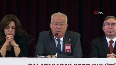 divan kurulu - Eşref Hamamcıoğlu: 'Rakip kulüplerden biri bize çelme takmaya çalışıyor'