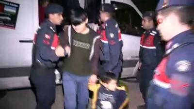 multeci -  Osmangazi Köprüsünde 48 kaçak göçmen yakalandı