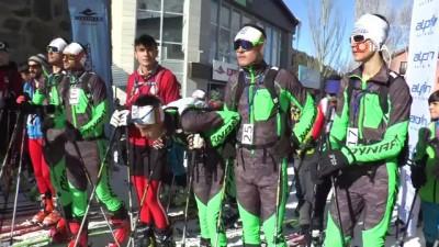 Türkiye'nin ilk Dağ Kayağı Şampiyonası Erzurum'da yapıldı