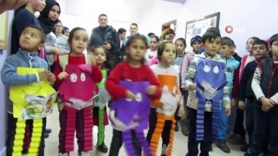 Yenimahalle Belediye Başkanı Yaşar'ın torunu memleketindeki köy okuluna kütüphane kurdu