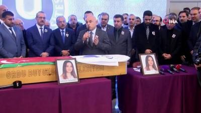 Öldürülen Ceren Özdemir, vefatının 40. gününde anıldı