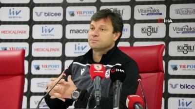 Samsunspor - Gümüşhanespor maçının ardından