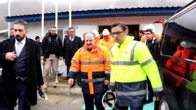 Sanayi ve Teknoloji Bakanı Varank'tan dünyan en uzun 2.tüneline inceleme