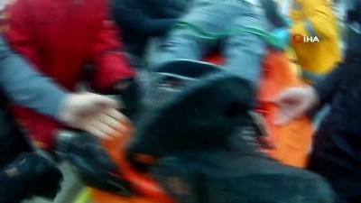 motosiklet surucusu -  Yoğun bakımda hayat mücadelesi veren arkadaşları için TEM otoyolunu kapattılar