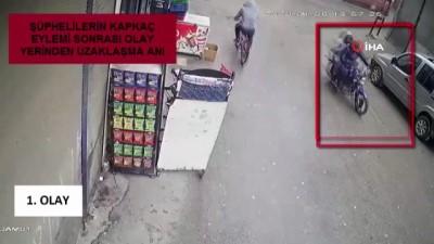 opel -  Gaspçılar önce kameralara sonra polise yakalandı