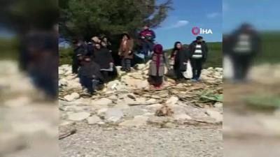 İzmir'de 171 düzensiz göçmen yakalandı