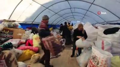 Sındırgı'dan İdlib'e yardım TIR'ı