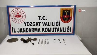 Yozgat'ta tarihi eser operasyonu: 31 parça ele geçirildi