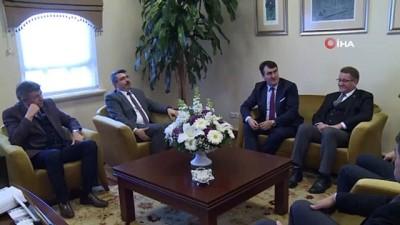 referans -  Başkan Dündar, Oktay Yılmaz'ı ağırladı