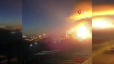 - İspanya'da petrokimya tesisinde patlama