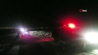 Kar ve tipide mahsur kalan araçlar macera offroad ekibi tarafından kurtarıldı