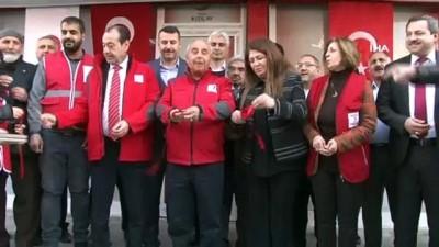Kızılay Şanlıurfa'da giyim mağazası açtı