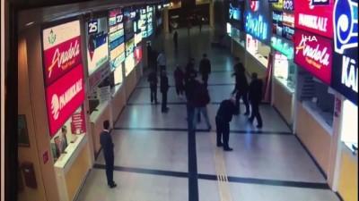 Otobüs terminalindeki cinayetin güvenlik kamerası görüntüleri ortaya çıktı