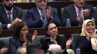 grup toplantisi -  Şehit kızı Gülay Demir sözleriyle AK Parti grup toplantısında ayakta alkışlandı