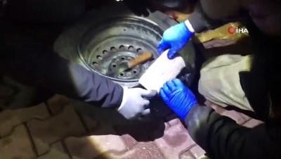 narkotik -  Adana'da 12 kilo 548 gram eroin ele geçirildi