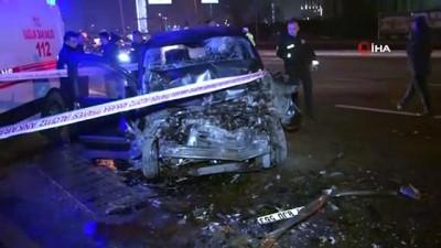 Başkent'te sıkışmalı kaza: 1 yaralı