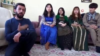 Güney Kore'den gelip Yüksekovalı oldular