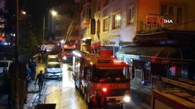 Isparta'da öğrenci apartında korkutan yangın