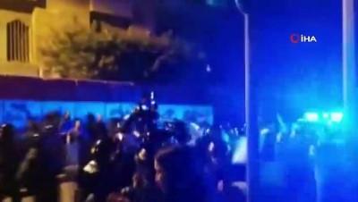 - Lübnan polisinden Merkez Bankası önündeki gösteriye müdahale