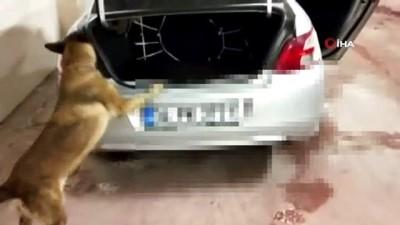 Otomobilinden 16 kilo esrar çıkan zanlı tutuklandı