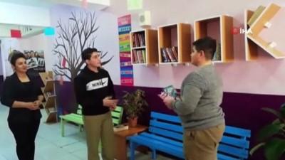 Ağrı'da öğrenciler İngilizceyi uygulamalı olarak öğreniyor