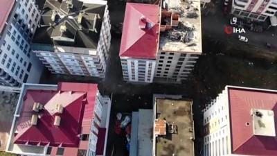 itfaiye araci -  Bu bina sahipleri hapishane hayatı yaşıyor