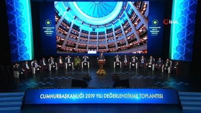 Cumhurbaşkanı Erdoğan: 'Milli gelirimizi 236 milyar dolardan 950 milyar dolarlara kadar çıkartarak 4 kat artırdık'