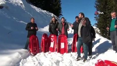 kis turizmi -  Giresunlu turizmciler kar duasına çıktı