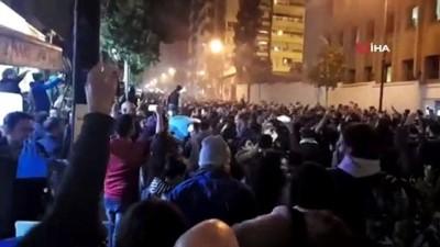 protesto -  - Lübnan'da polis ve göstericiler arasında arbede: 35 yaralı