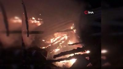 Muğla'da ki yangın, Denizli'den giden itfaiye ekiplerinin desteği ile söndürüldü