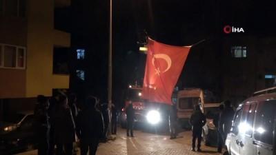 Telabyad şehidinin acı haberi memleketi Tokat'a ulaştı