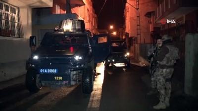 uyusturucu -  Adana merkezli 5 ilde torbacı operasyonu
