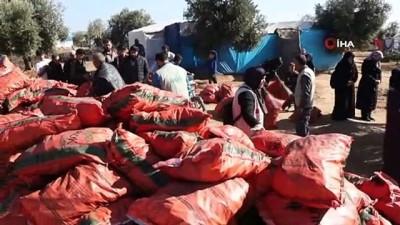 - Azez'de Suriyelilere kış yardımı